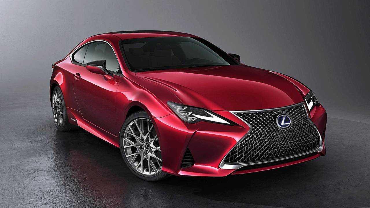 Lexus RC Facelift