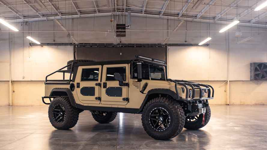 Mil-Spec's Baja Beast Hummer Is Ready To Roll Over Everything