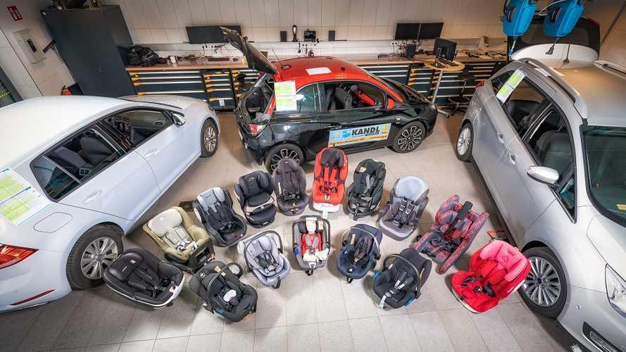 ADAC Kindersitz-Test 2018: Vier Sitze mangelhaft