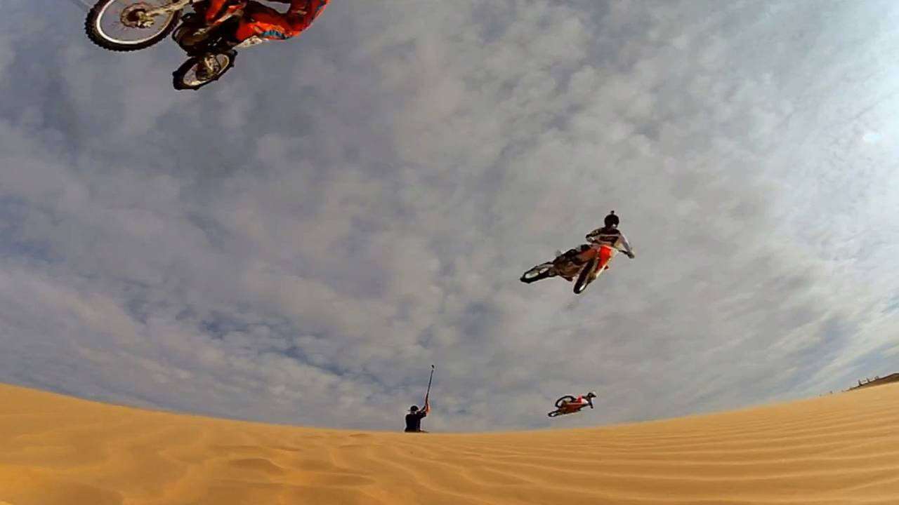 Ride onboard as Ronnie Renner rides Glamis