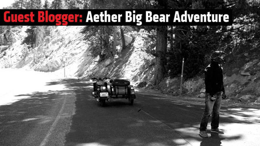 Guest Blogger: Aether Big Bear Adventure