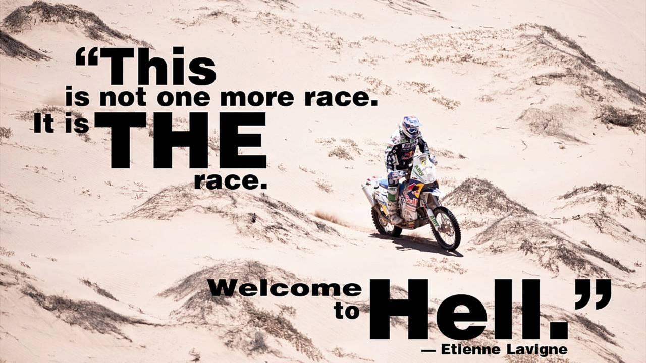 The Dakar director's safety advice
