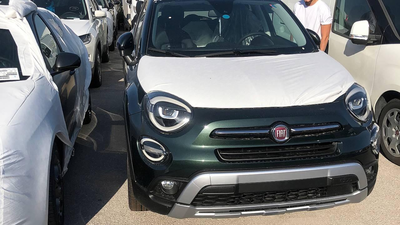 Fiat 500X, nuova foto spia