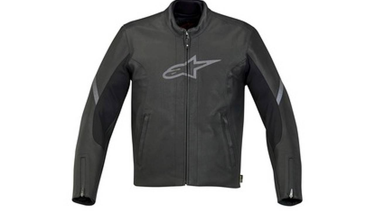 Alpinestars 365 Gore Tex suit made from leather, yet 100% waterproof