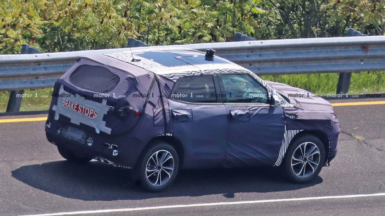 2020 Chevy Trax: Redesign, News, Release >> Redesigned 2020 Chevrolet Trax Suv Spied For The First Time