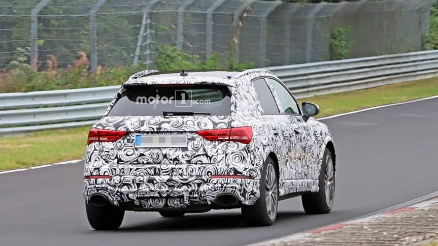 Photos espion Audi RS Q3 (2019)