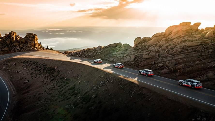 Audi E-Tron - Pikes Peak