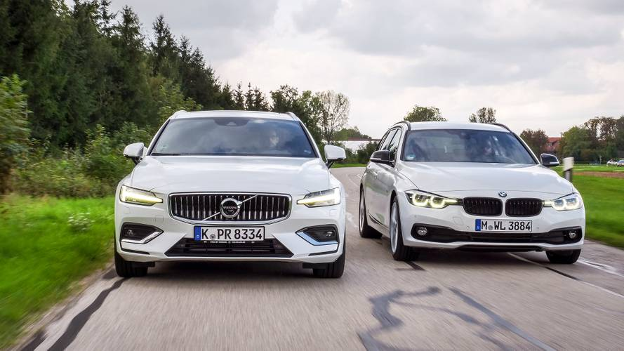 BMW 320d Touring 2018 vs. Volvo V60 D4 2018