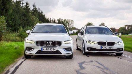 Test: Volvo V60 D4 vs BMW 320d Touring