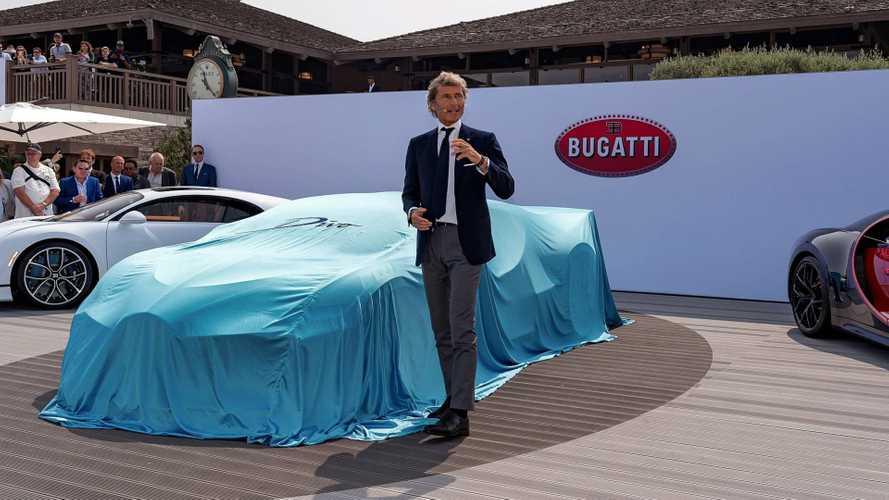 Une nouvelle Bugatti présentée cet été à Pebble Beach