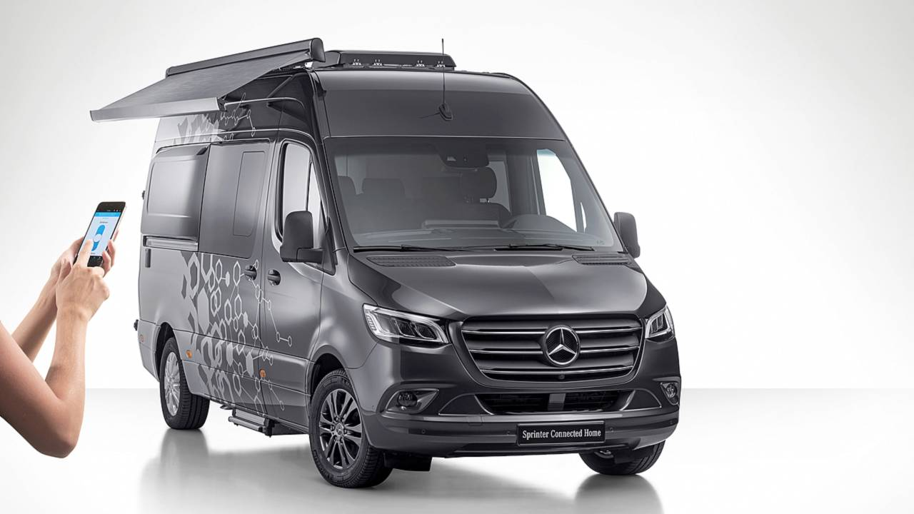 Mercedes Sprinter Connected Home