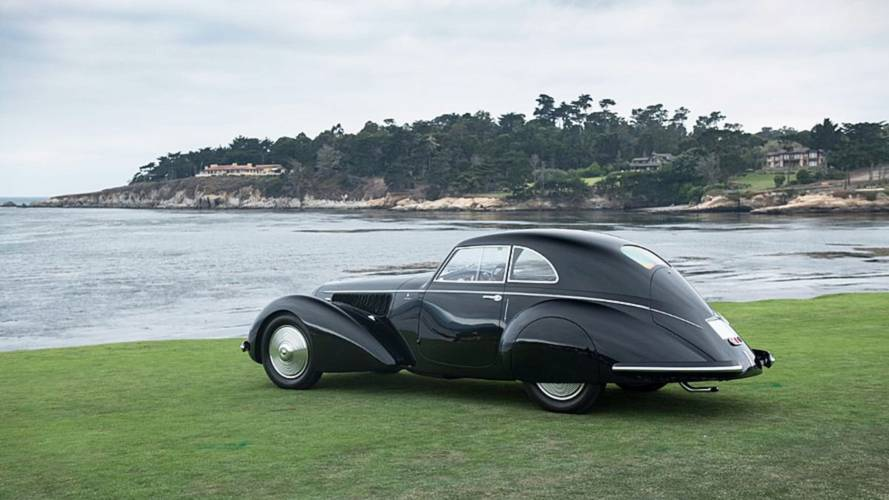 "Alfa Romeo 8C 2900B Touring, ""Best of Show"" al Pebble Beach Concours d'Elegance 2018"