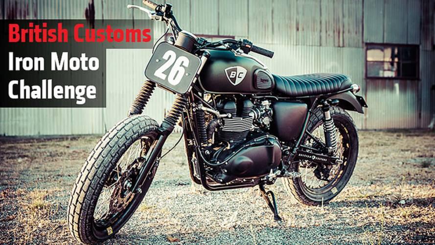 British Customs Iron Moto Challenge