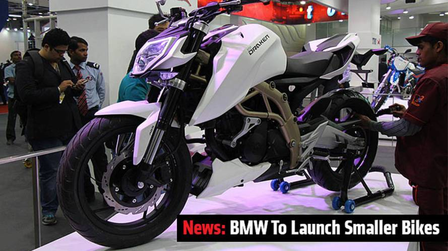 News: BMW To Launch Smaller Bikes