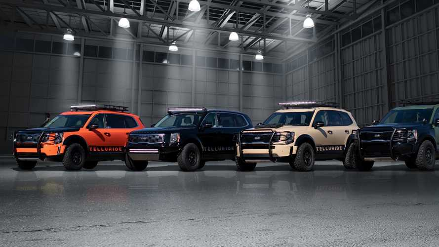 Kia Telluride Rolls Into SEMA With 4 Capable Concepts