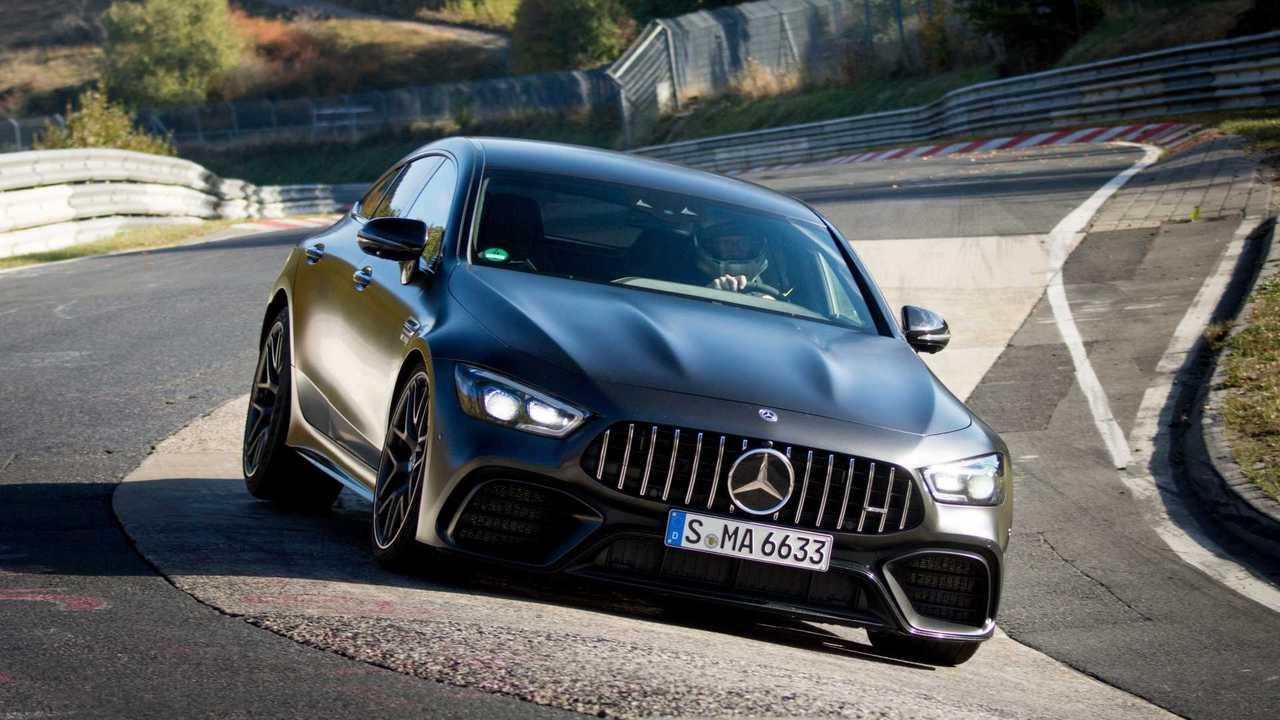 Mercedes-AMG GT Coupé4, la quattro posti più veloce del 'Ring