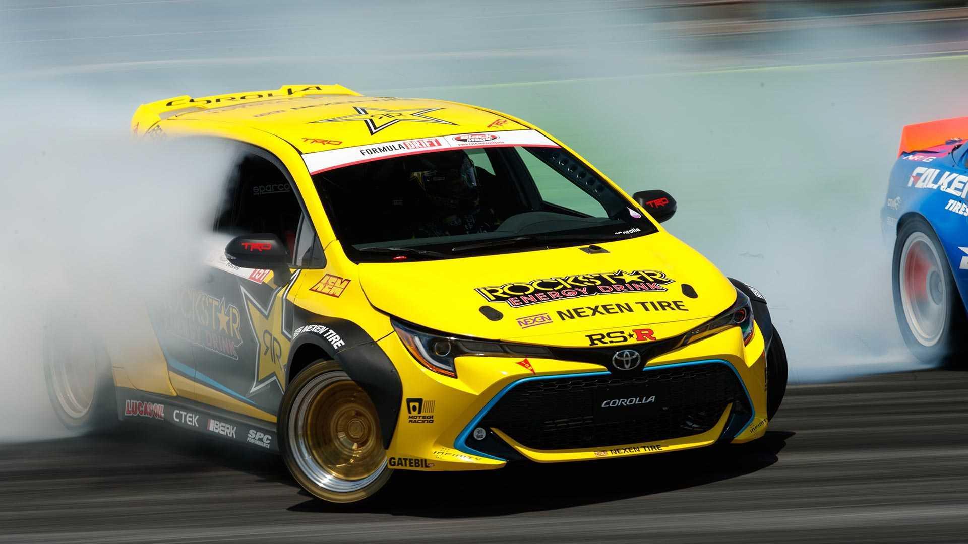 Toyota Corolla Papadakis Racing Drift Car SEMA Custom