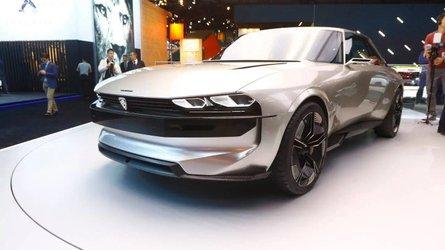 Peugeot e-LEGEND CONCEPT en el salón de París 2018