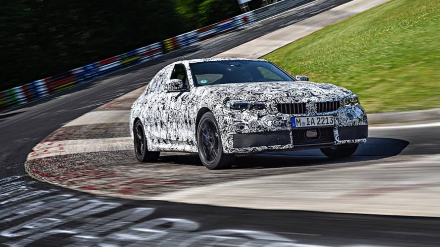 Teasers BMW Serie 3 2019
