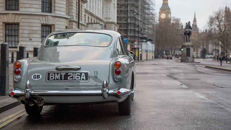 Aston Martin to build James Bond Goldfinger DB5s at £2.75M each