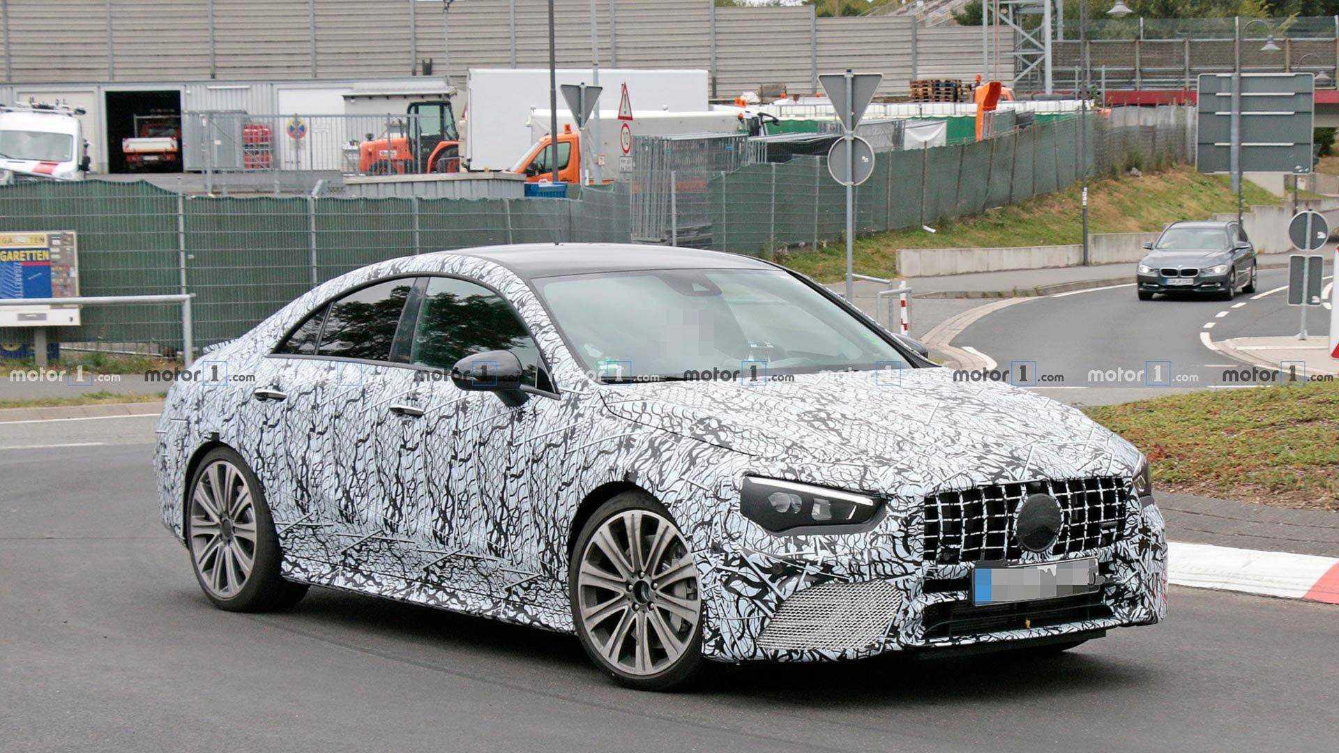 2019 - [Mercedes-Benz] CLA II - Page 2 Mercedes-amg-cla45-spy-shots