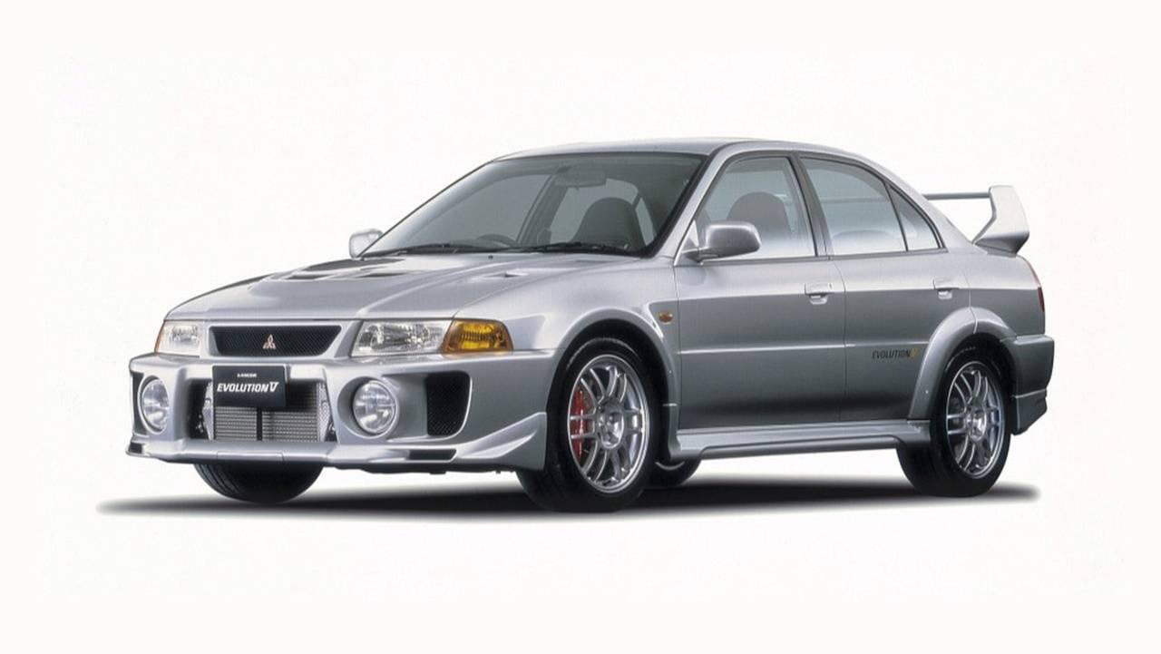 Mitsubishi Lancer Evo V Motoru