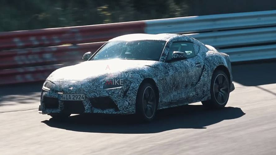 2019 Toyota Supra Returns In New 5-Minute Spy Video