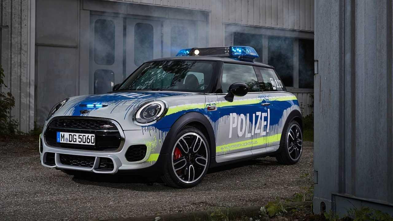 Mini John Cooper Works Polizei