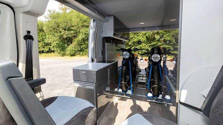 Citroen Jumper Motosikletlere Özel Karavan Versiyonu