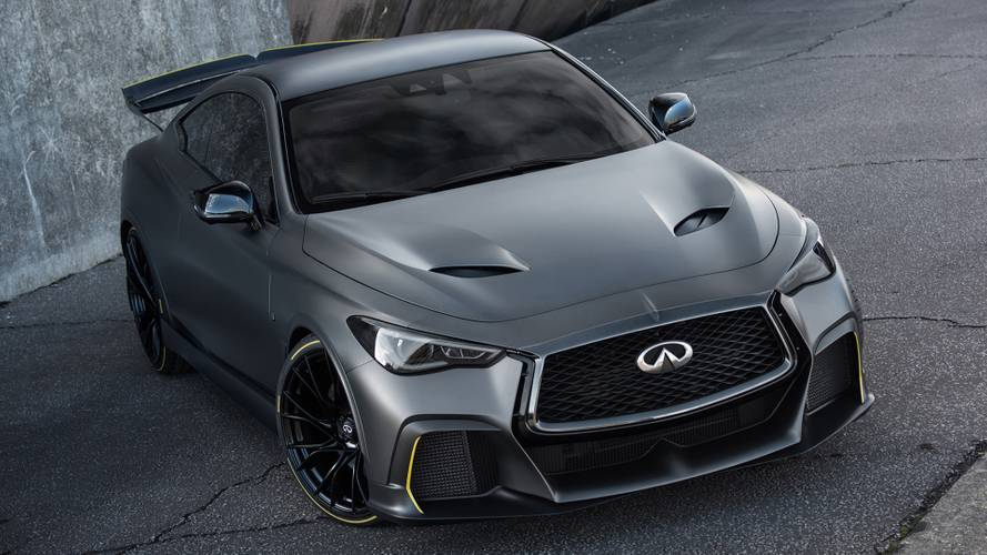 L'Infiniti Project Black S évolue pour le Mondial de Paris