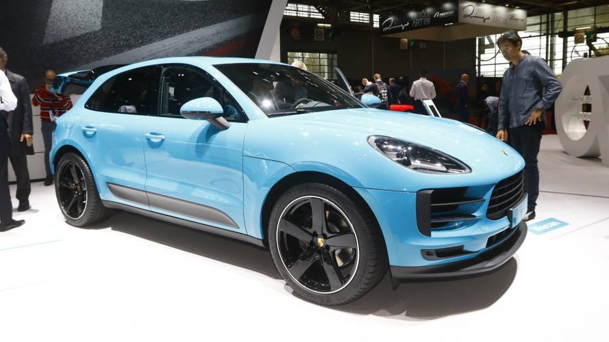 2019 Porsche Macan debuts in Paris with hot turbo engine