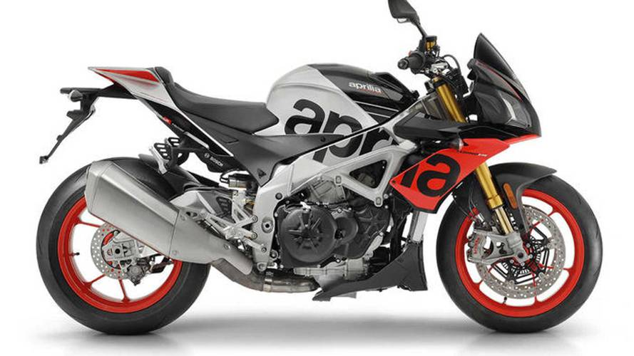 Aprilia Tuono V4-Series Gets Best. Suspension. Ever.