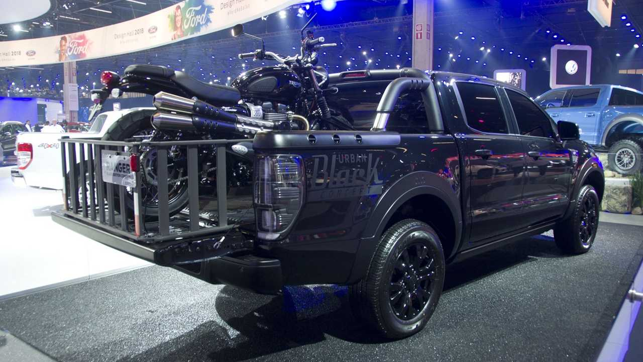 Ford Ranger Storm ve Ranger Black Edition (Sao Paulo Otomobil Fuarı 2018)