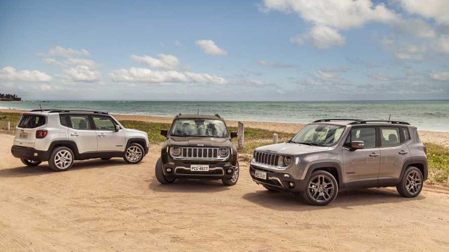 Jeep Renegade volta a liderar entre os SUVs: confira parcial de mais vendidos em dezembro