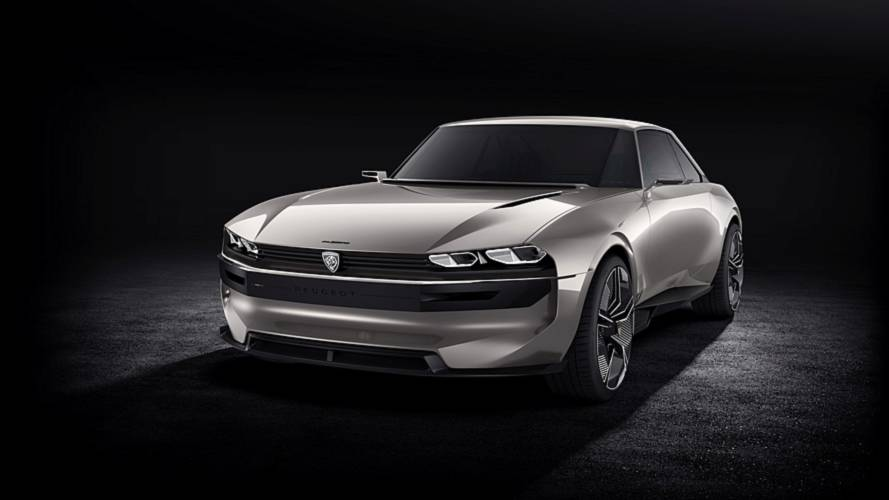 Peugeot e-Legend revive 504 Coupe como modelo elétrico e autônomo