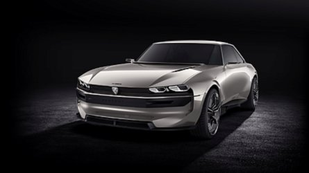 Retro-Tastic Peugeot e-Legend Concept Revives The 504 Coupe