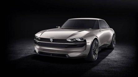 Peugeot e-Legend Concept - Comme un goût de 504 Coupé