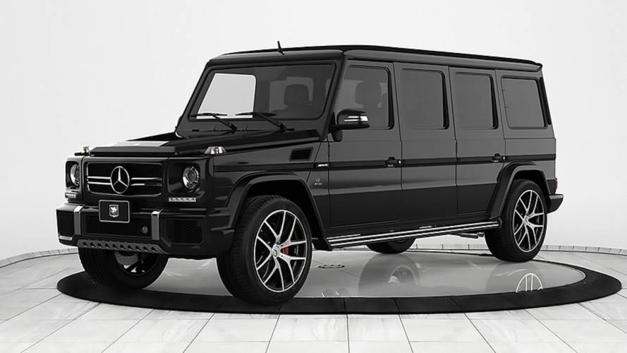 Armoured Mercedes-AMG G63 limo demands respect