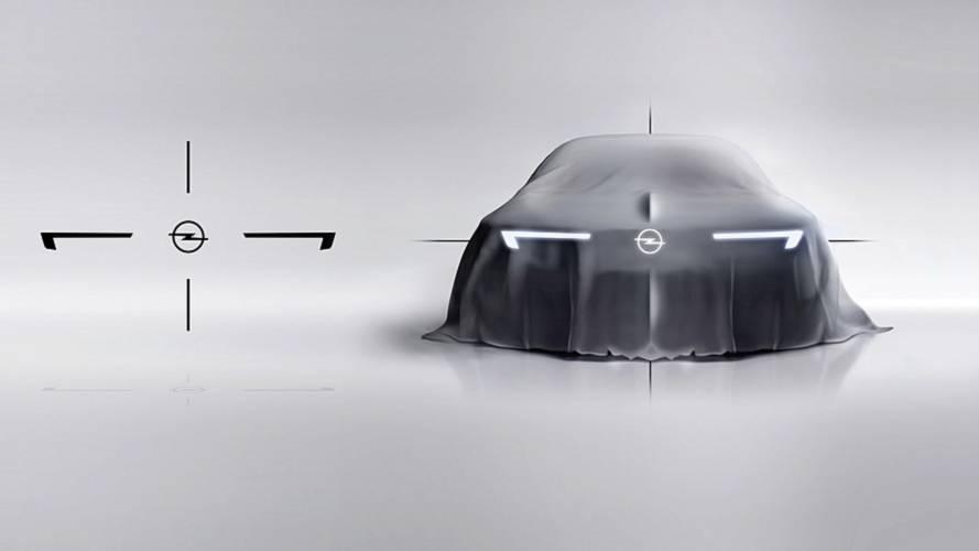 Opel GT X Experimental konsepti teaser'ları
