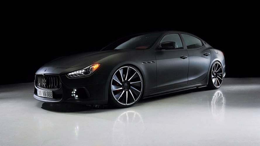 Lopakodó külsővel ellátott Maserati Ghiblit mutatott be a Wald International