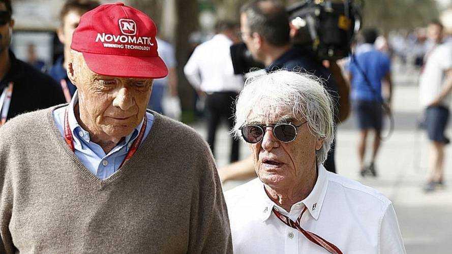 Ecclestone: Niki Lauda ist ein unglaublicher Kerl!