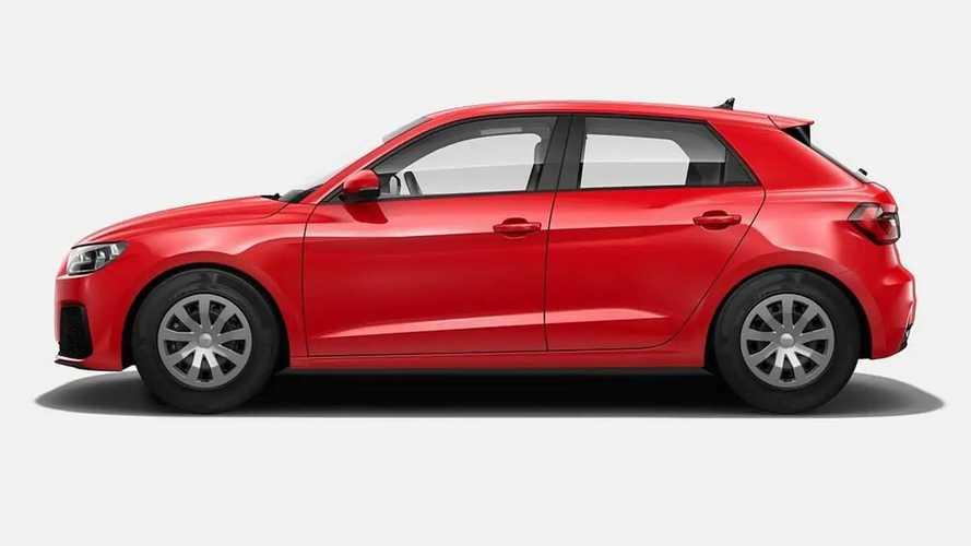 Audi A1 Sportback'in En Boş Donanım Paketi