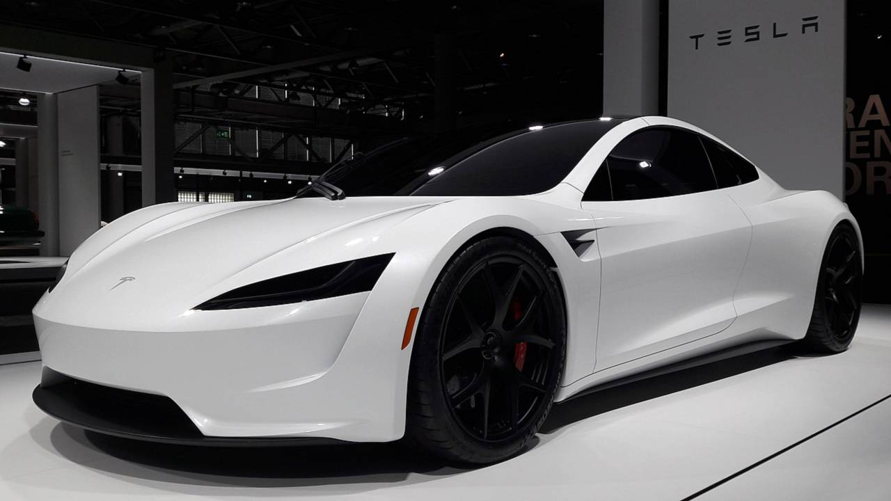 Tesla Roadster Live From Grand Basel