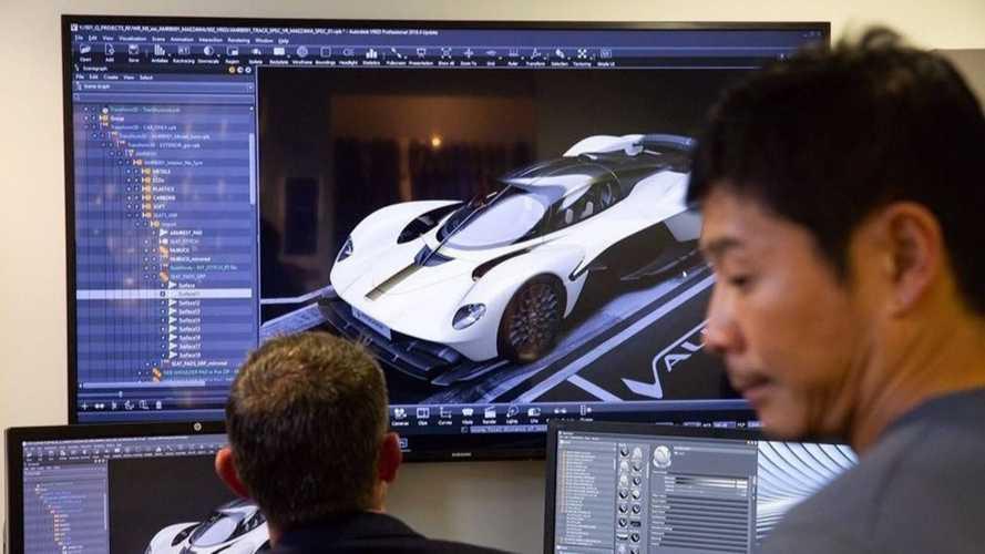 Est-ce la tant attendue Aston Martin Valkyrie ?