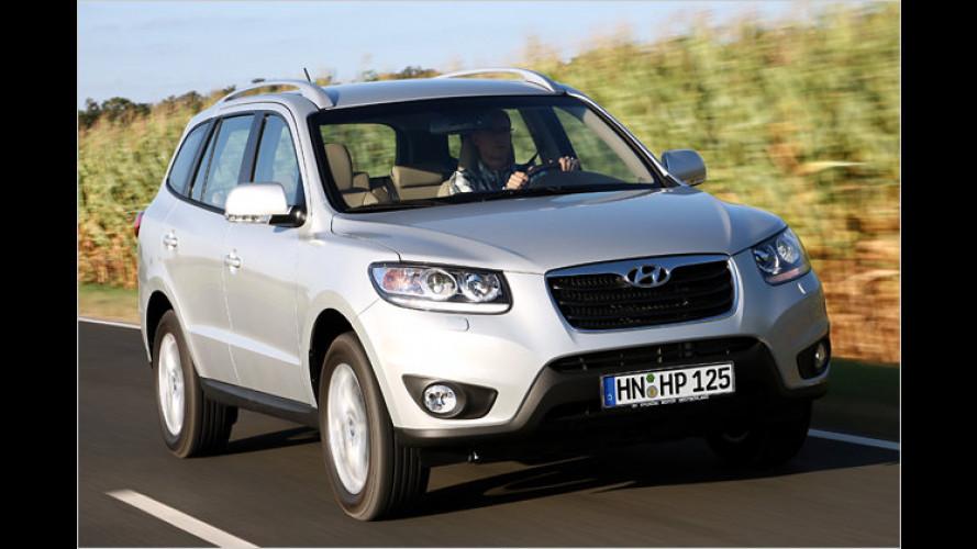 Hyundai Santa Fe: Die Preise der Faceliftversion