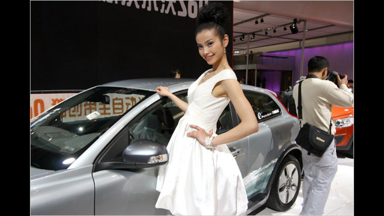 Volvo hat auch in China viele weibliche Fans