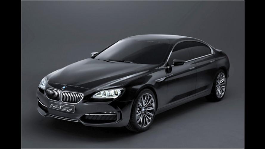 Sensation in Peking: BMW zeigt viertürige Coupéstudie
