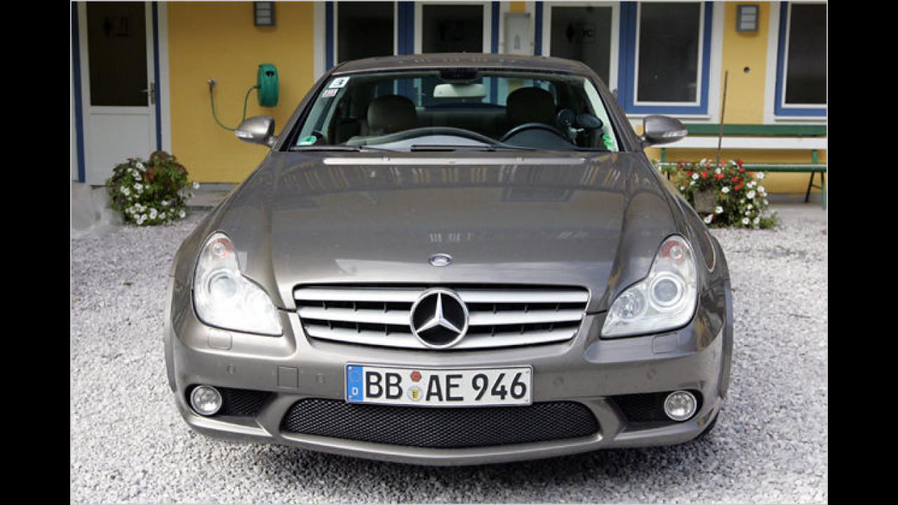 Mercedes-Versuchsträger