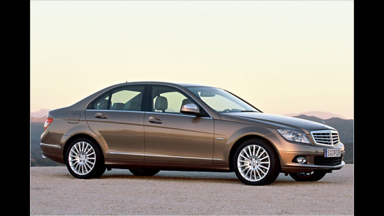 Mercedes C 200 CDI BlueEFFICIENCY