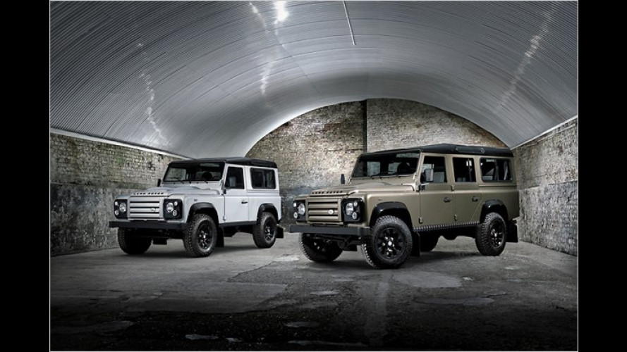 Alter Haudegen: Land Rover Defender ,Rough""